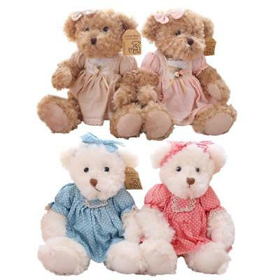 Bear Costume For Kids (Teddy Bear Stuffed Toys For Kids 2 Pieces/Pair With Costume Attire Lovely)
