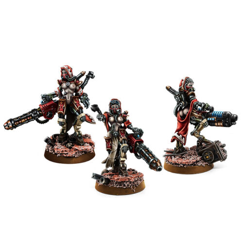 Wargame Exclusive Mechanic Adept Eradicator Squad 28mm