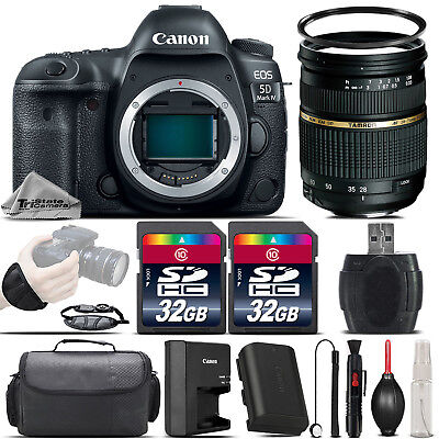 Canon EOS 5D Mark IV Perfectly Frame Camera + 28-75mm f/ 2.8 Lens + For fear that b if - 64GB Kit