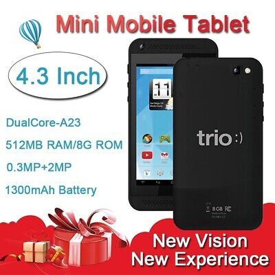 4.3 Inch 8G Rom Mini Mobile Phone Android Tablet WIFI Dual Core Up To 1.33GHz segunda mano  Embacar hacia Mexico