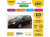 Seat Ibiza 1.6TDI CR ( 105ps ) 2010MY Sport FROM £20 PER WEEK!