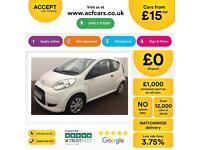 Citroen C1 1.0i 68 VTR From £15 per week