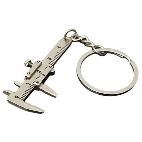 Creative Key Chain Vernier Caliper Pendant Slider Slides Key