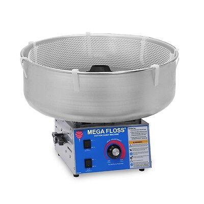 Cotton Candy Floss Maker Machine 3016-00-000 Mega Floss
