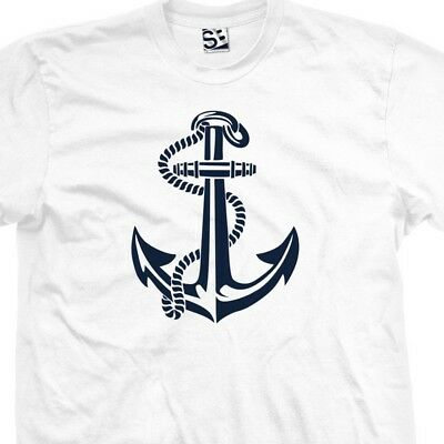 Symbol Tattoo - Anchor Art T-Shirt - Symbol Tattoo Design Sailor - All Sizes & Colors