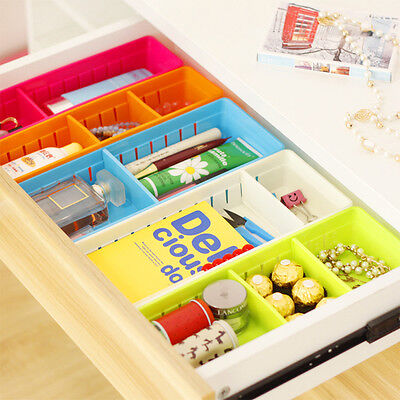 Adjustable Drawer Organizer (Adjustable New Drawer Organizer Home Kitchen Board Divider Makeup Storage Nice )