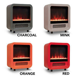 ON SALE: 50% OFF Mini Electric Fireplace / Portable Heater