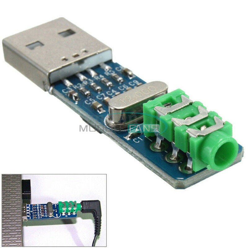 5V USB Powered PCM2704 MINI USB Sound Card DAC decoder board for PC Computer