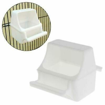 Bird Feeder Anti Splash Feeding Bowl Box Splash Proof Cage Parrot Pigeon Budgie