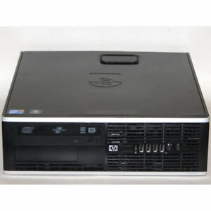 HP Compaq 8000 Elite SFF Desktop PC Core2 Duo 3GHz 4GB RAM 160GB