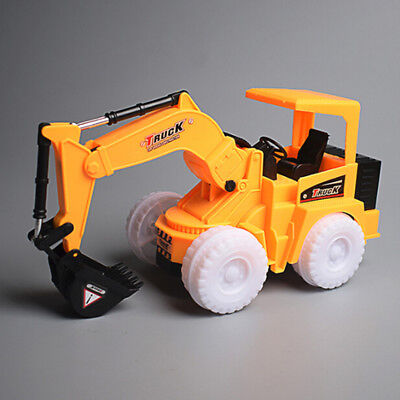 1*Toys For Kids Toddler LED Truck Excavator 3 4 5 6 7 Years Boys Cool Xmas Gifts