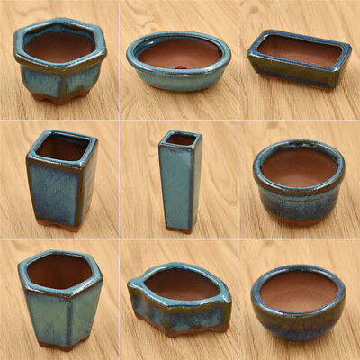 Ceramic Flower Pots For Juicy Plant Small Bonsai Pot Home Garden Decoration Gift