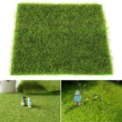 Moos Matte Künstlich Grün Blatt Gras Zug Handwerk Fee für Dekor Garten Hochzeit