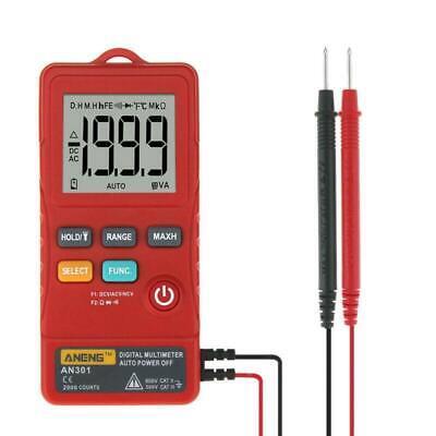 An301 Mini Digital Multimeter Ac Dc Voltmeter Voltage Frequency Meter Tool Lj