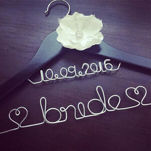Personalized Wire Hangers, Cake Topper & Table Numbers - WEDDING Cambridge Kitchener Area image 1