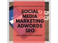 NEED HELP WITH YOUR SOCIAL MEDIA CHANNELS?   ET SOCIAL MEDIA MANAGEMENT 07514925257