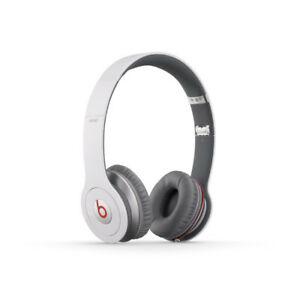 Beats By Dr. Dre Solo HD Wired On-Ear Headphone - White