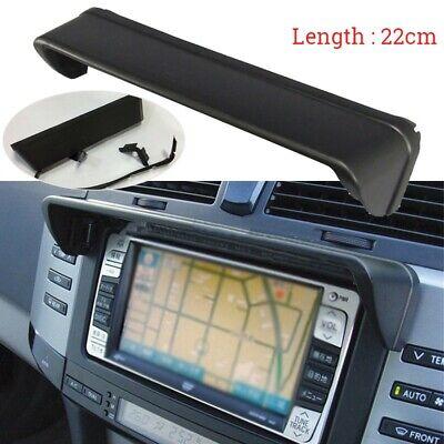 Antirreflectante 22cm Coche Salpicadero Radio Sun-Shade GPS Cubierta Accesorio