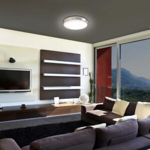 Flush Mount Ceiling Light Fixture with Dimmable Light, Chrome