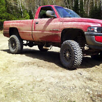 1997 Ram, 8 Inch lift/ 37 Inch tires - Asking $4000