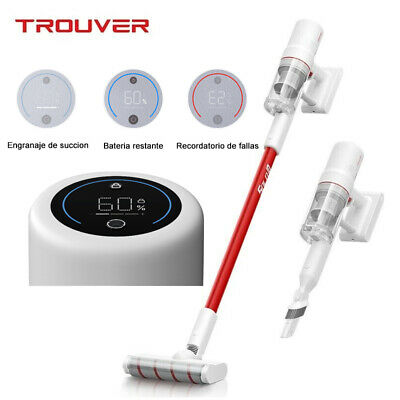 Dreame TROUVER Solo 10 Aspiradora inalámbrica LED Pantalla táctil Portátil HEPA