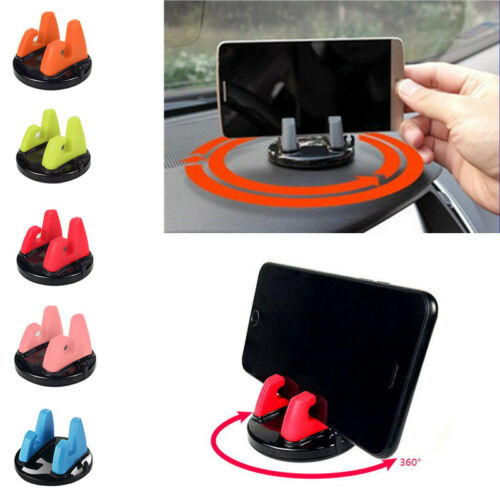 Multi- function 360 Degree Rotating Car Cell Phone Mount Holder Stand Universal
