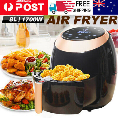 Air Fryer Electric LCD Fryers Healthy Cooker Oil Free Kitchen Oven Airfryer 8L