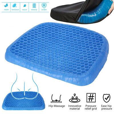 Ice Gelkissen Kissen Pad Autositz Büro Stuhlkissen Massage Abdeckung ()