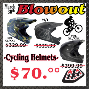 Troy Lee Designs BMX/Mountain Helmets D-2  **SEE MORE ADS**
