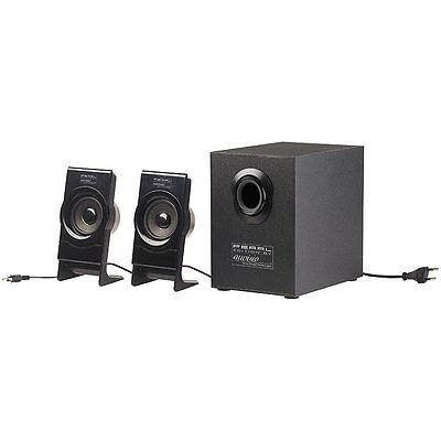 auvisio Klangstarkes 2.1-Bluetooth-Lautsprecher-System mit Subwoofer, 30 Watt online kaufen