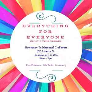 Bowmanville Craft and Vendor Show