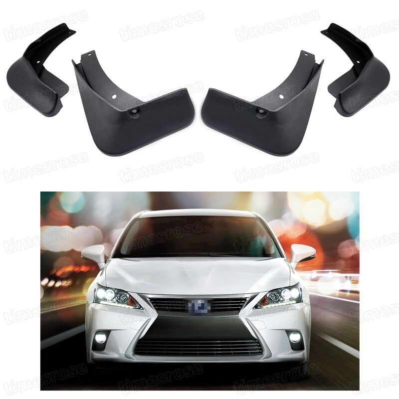 4Pcs Car Mud Flaps Splash Guard Fender Mudguard for Lexus CT 200h 2014-2015 16