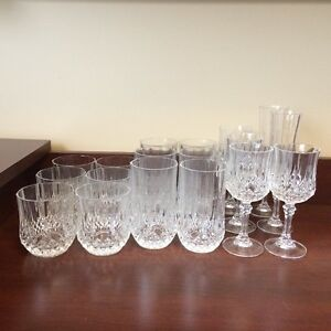 Kitchen/Bar Crystal Glasses Stratford Kitchener Area image 1