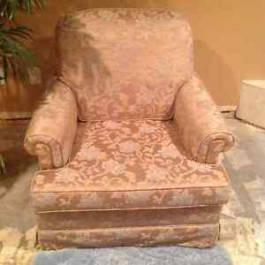 Custom built upholstered chair