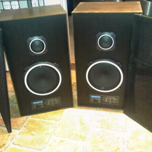 SANYO 2-way speakers system model AD5022