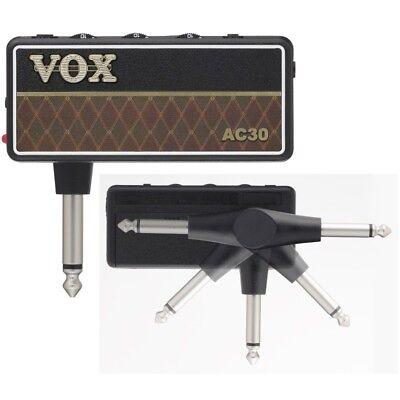 Vox Amplug 2 AC30 Mini Amplificador Conector Guitarra Eléctrica