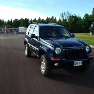 2004 Jeep Liberty Limited 4x4 cert.and etested