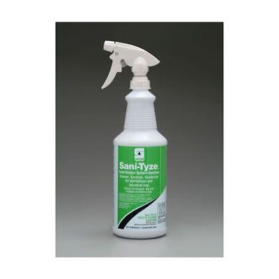 Food Surface Sanitizer - Spartan RTU Sani-Tyze Food Contact Surface Sanitizer, 32 oz Btl, 12 Btls/Case