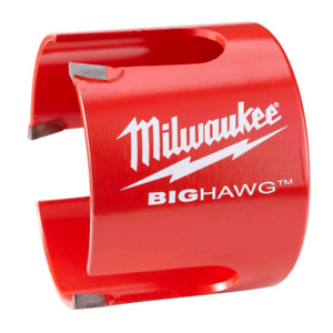 "Milwaukee big hawg hole cutter 3-5/8"" brand new"
