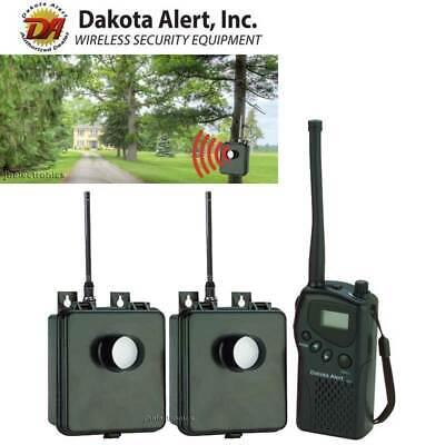 DAKOTA ALERT MURS HT KIT - 2 WIRELESS MOTION SENSORS DRIVEWAY SECURITY ALARM NEW Motion Alert Kit