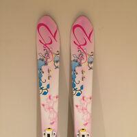 Girls K2 Luv Bug 124 cm Ski's, 3 choices (options) of Ski boots