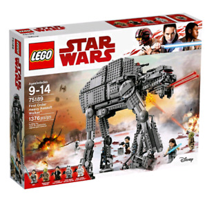 Lego Star Wars Heavy Assault Walker 75189 new sealed box .