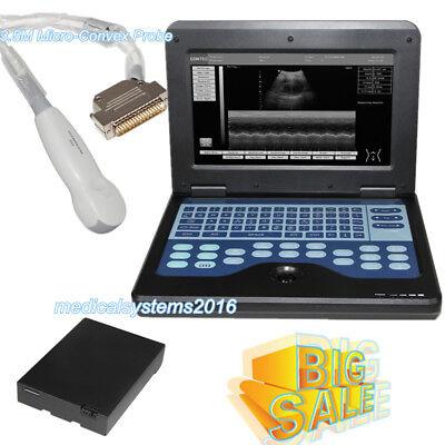 Portable Digital Ultrasound Scanner Machine Diagnostic Systemmicro-convex Probe