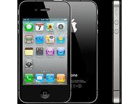 Apple iPhone 4 - 16GB - Black (EE) Jailbroken Smartphone