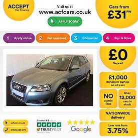 Audi A3 1.6TDI Sportback 2010MY Sport FROM £31 PER WEEK !