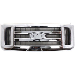 2008 - 2016 FORD ECONOLINE GRILLE - FO1200507 9C2Z8200AA