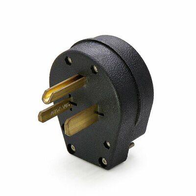 Male 6-30p Welder Dryer Power Plug 50 Amp 220v 208 220 250 Volt Welding 6-50p Us