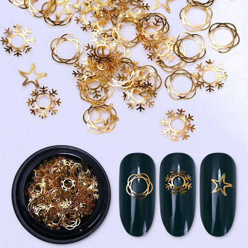 Nail Art 3D DIY Rose Rhinestones Jewelry Gems Mix Nail Art Decoration Glitter