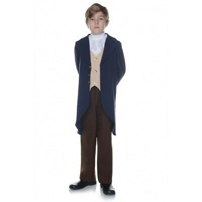 Underwraps Thomas Jefferson History America Child Boys Halloween Costume 25882