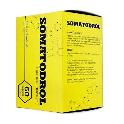 SOMATODROL 60 Capsulas IRIDIUM LABS Constructor Muscular